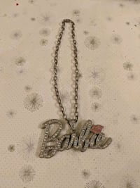 Barbie bling necklace