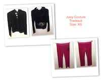 Juicy Couture Tracksuit, Cardigan, T-shirt and dress, from$15  Markham