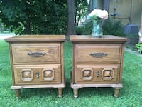 Delivery - pair of antique night stands Toronto, M9B 3C6