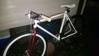 white and red chill racing mountin bike  Windsor, N9C 4E3