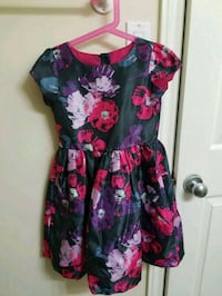 women's black and pink floral dress Ottawa