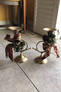Vintage Brass Candle Holders Toronto, M9M 1H6