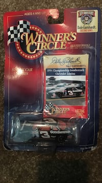 winner's circle die-cast car collection