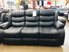 Reclining sofa and love seat. Brand new.