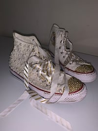 Customized Bedazzled Converses