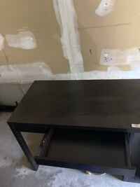 rectangular black wooden coffee table Toronto, M4B 3P1