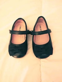 pair of black leather mary jane shoes North Wales, 19454