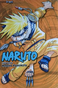 Naruto Manga 3 in 1 Volumes 4, 5, 6 Middletown, 10940