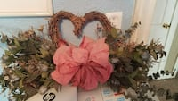 brown heart shape wreath Corpus Christi, 78411