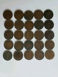 Lot of 25pcs 1900 to 1920 Antique Large Canadian  Calgary, T2R 0S8