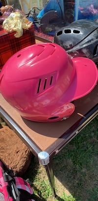 Pink girls softball helmet size medium