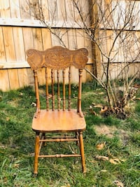 6 Vintage wooden Chairs Glen Burnie, 21061
