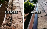 Gutters clean up great price Indianapolis