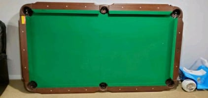 "90"" Billiards Pool Table SOLD AS IS"
