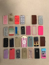 Assorted color iphone case lot