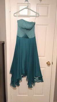 Blue multiple layer flowing dress size small  Whitby, L1M 1J3