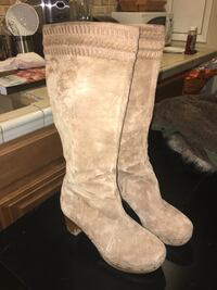 Ugg Knee High Genuine Suede Boots Washington, 20015