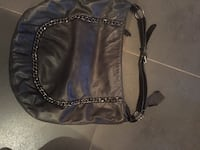 Danier leather black purse  Burlington
