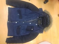 Zara man denim collection coat