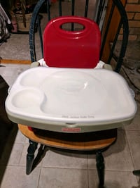 Fischer Price booster seat with tray