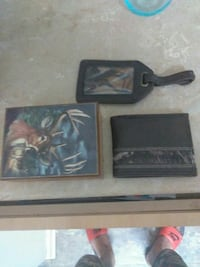 Wallet wooden box and picture holder  hunters ed.  Covington, 70433
