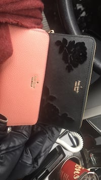 Black and gray Kate spade leather wallet 60 each  Caledon, L7C