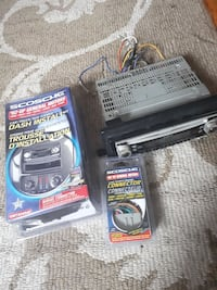 Sony car dash Stereo and install kit St. Catharines, L2M 3S4