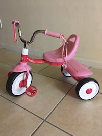 toddler's pink and red Radio Flyer trike Royal Palm Beach, 33411