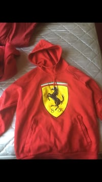 red and yellow Batman pullover hoodie Fresno, 93711