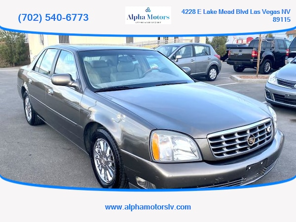 2003 Cadillac DeVille for sale 0
