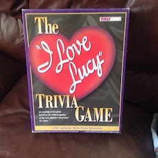 the i love lucy trivia game box