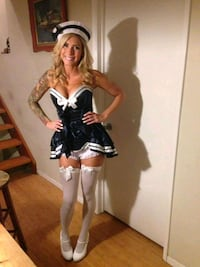 Daisy Corset sailor costume NEW IN BAG WITH TAGS Redding, 96001
