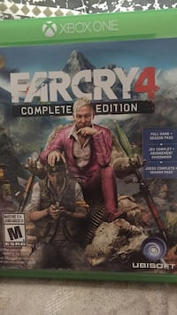 Far cry 4 complete edition for Xbox one Prince George, V2M 1C4