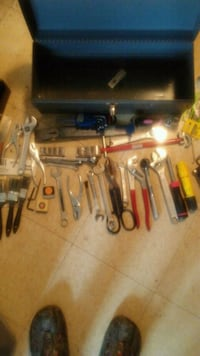 Tool box with tools! Well worth the money.
