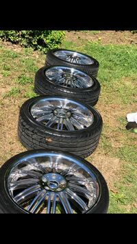 4 /20' Rims With sound system & touch screen radio Capitol Heights, 20743