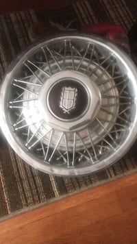 """Hubcaps 15""""  Lincoln Athens, 35611"""