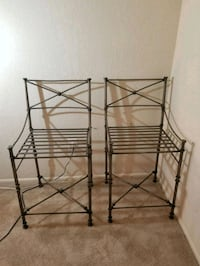 Pair of wrought iron bar stools Silver Spring, 20903