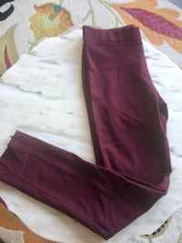 Pants Bordeaux made Italy
