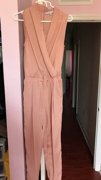 nude-colored sleeveless overalls Cutler Bay, 33190