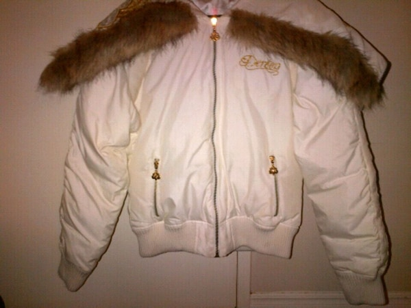 Dereon Down Filled Bomber Jacket