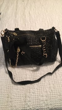 black and brown leather shoulder bag Westmont, 60559