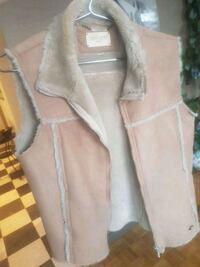Women's Suede, faux fur Vest Sz.Small