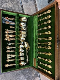 Gold plated cutlery set Houston, 77034