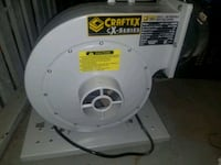 Craftex (cx415) dust collector 1 HP