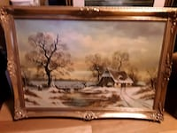 Lovely Vintage Painting & Certificate of Authenticity Horst Baumgart  Mississauga, L5J 2E5