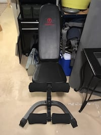Workout bench EUC Langley, V1M 2R2