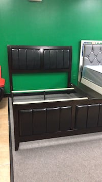 Brand New Espresso Color Queen Size Bed Frame, New In Box, We Deliver  Foster, 02825