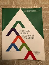 Strategic Human Resources planning textbook  Vaughan, L4H 0Y4