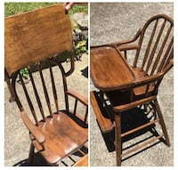 Antique wooden high chair  Nashville, 37217