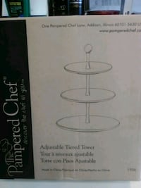 Pampered chef adjustable tiered tower Chicago, 60609
